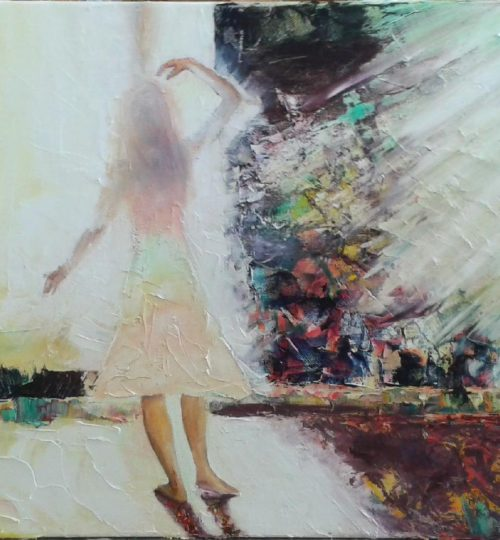 """Selbstrealisation"", Öl auf Leinwand, 60 x 40 cm"