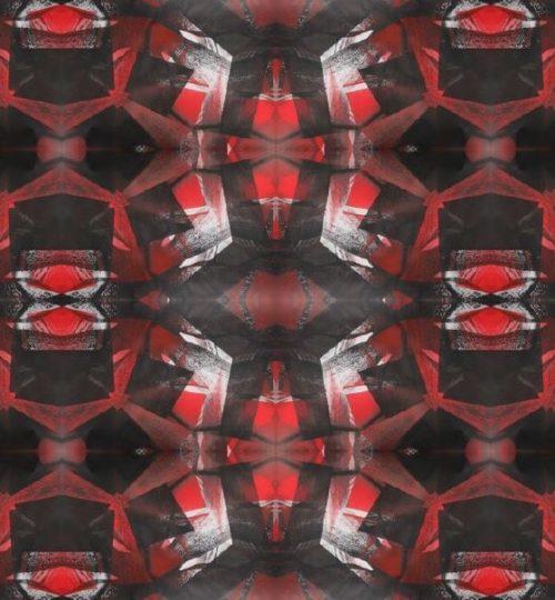 """Kaleidoskop"", Digitale Montage, 21 × 29,7 cm"